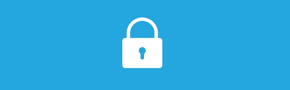 Blue background with a lock image in white. Keys to Electronically Stored Information (ESI) Authentication.