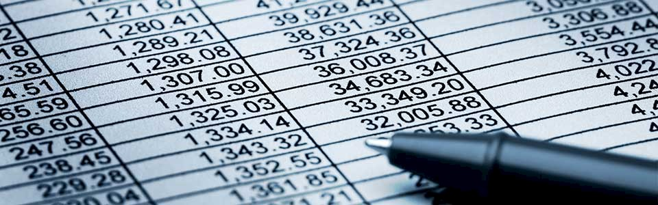 Financial Spreadsheet. Welcome to The General Ledger, Lindquist LLP's New Blog.
