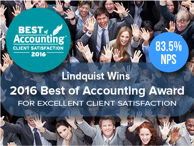 Lindquist Best of Accounting Award