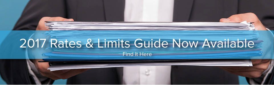 2017 Rates & Limits Guide